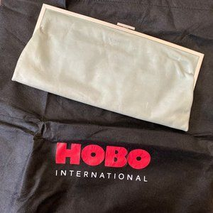 HOBO Large Leather Clutch - Mint